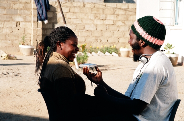 Practice interview, Zambia, 2005 (S.Warrington)