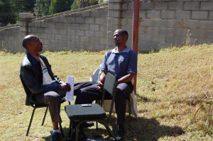 practice interview, oral testimony workshop, Swaziland